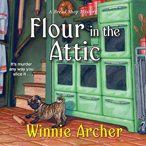 Flour in the Attic audiobook cover art
