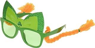 """Amscan Braids Fun Shades Funshades, 2"""", Green"""