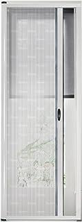 35x98inch Bianco Zanzariere su Misura Rete di Ottima qualit/à Totalmente Magnetica per Casa Ufficio GUOGAI Zanzariera Magnetica Impedendo 90x250cm