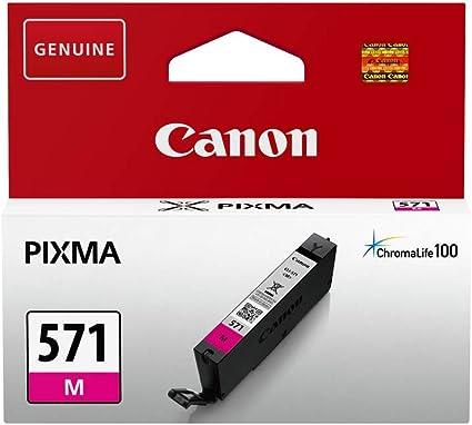 Canon Cli 571 M Druckertinte Magenta 7 Ml Für Pixma Tintenstrahldrucker Original Bürobedarf Schreibwaren