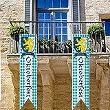 Know me Bayern Oktoberfest Banner Deko Bayerische Löwenwen Wappen Fahnen Oktoberfest Motto Deko Party Hängebedarf