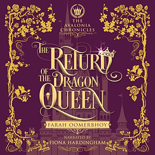 The Return of the Dragon Queen audiobook cover art