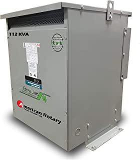 112 kVA 240D/480D Volt Primary to 480D/240D Volt Secondary 3 Phase Transformer