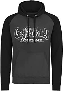 Hoodie Classic White Logo Official Mens Dark Grey Pullover