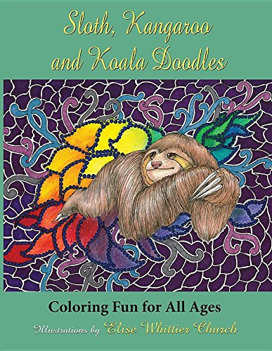 Sloth, Kangaroo, and Koala Doodles: Coloring Fun for All Ages (2)