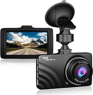 CLAONER Dashcam 1080P Full HD Auto Kamera DVR Armaturenbrett Kamera Video Recorder Auto Kamera Dashcam für Autos 170 Weitwinkel WDR mit 7,6 cm LCD Display Nachtsicht Bewegungserkennung und G Sensor
