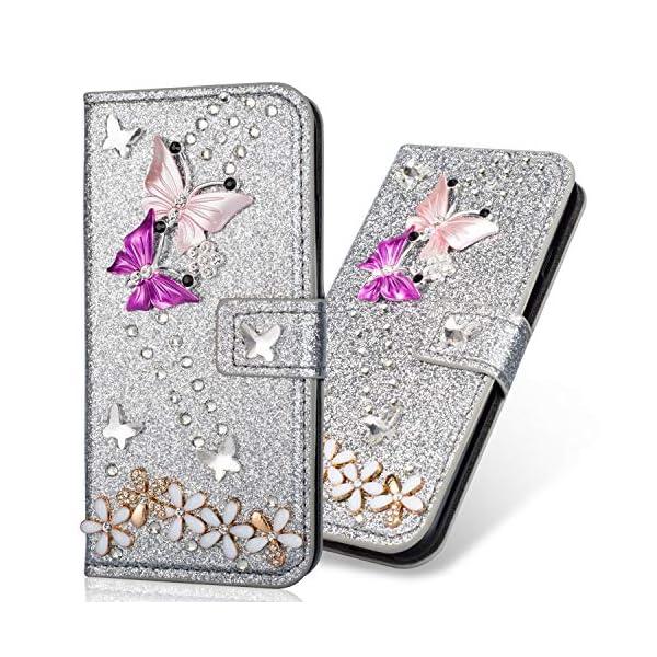 Stand-Funktion-Glitter-Diamond-Sparkle-Bling-Glitzer-fr-Samsung-A70