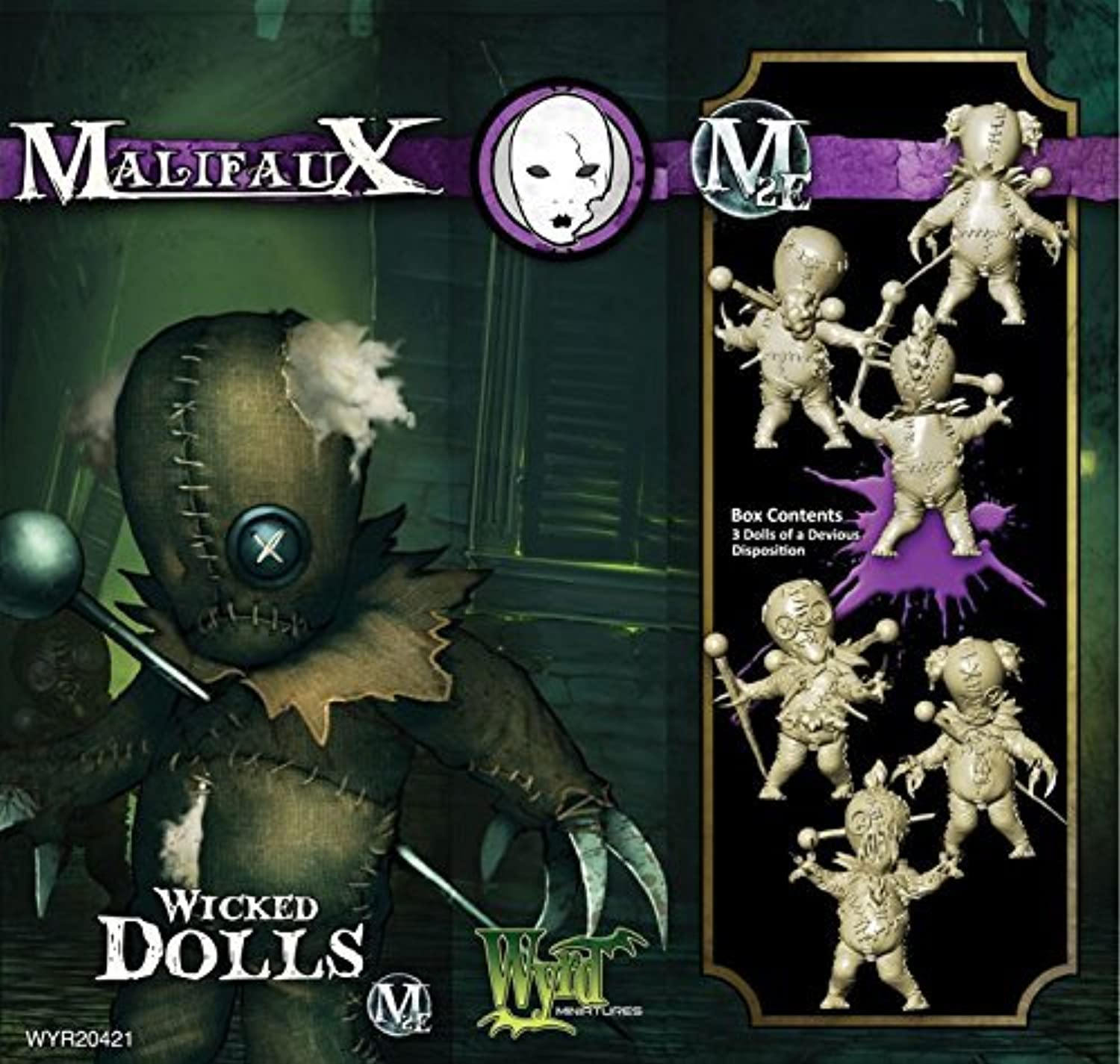 Neverborn  Wicked Dolls by Wyrd Miniatures