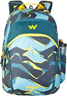 Wildcraft 35 Ltrs Turquoise Casual Backpack (11616-Turquoise)