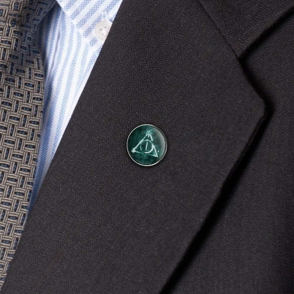 Harry Potter Deathly Hallows Logo Metal 0.75