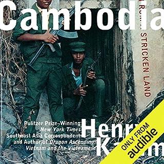 Cambodia audiobook cover art