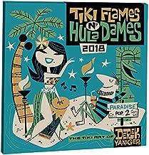 Orange Circle Studio 2018 Album Wall Calendar, Tiki Flames n' Hula Dames