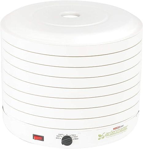 NESCO FD-1018A, Gardenmaster Food Dehydrator, White, 1000 watts (Renewed)
