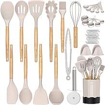 Kitchen Cooking Utensil Set, Fungun 26 pcs Cooking Utensils - Nonstick Kitchen Utensils Cookware Set Spatula Set -Kitchen ...