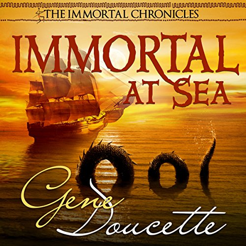 Immortal at Sea audiobook cover art