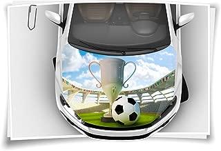 Resinfiguren Soccer Silber mit Gold Henecka Fussball-Pokal mit Wunschgravur und ausw/ählbarem Sport-Emblem oder als 3er-Serie w/ählbar in 3 Gr/ö/ßen