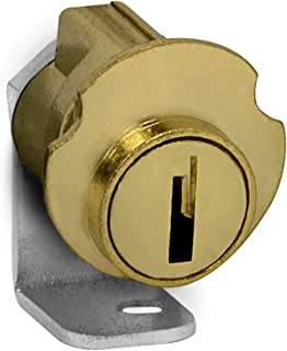 Salsbury Industries 2090 Replacement Lock for Brass Mailbox Door with 2 Keys