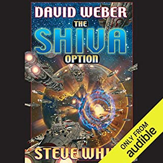 The Shiva Option     Starfire, Book 3              By:                                                                                                                                 David Weber,                                                                                        Steve White                               Narrated by:                                                                                                                                 Marc Vietor                      Length: 25 hrs and 50 mins     604 ratings     Overall 4.6