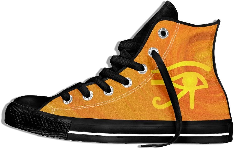 Eye Of Horus High Top Classic Casual Canvas Fashion shoes Sneakers For Women & Men