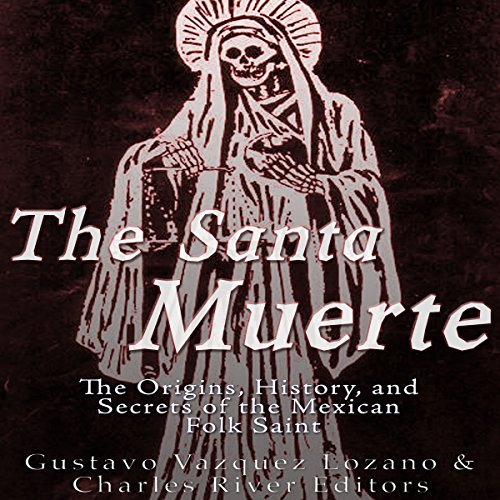 The Santa Muerte audiobook cover art
