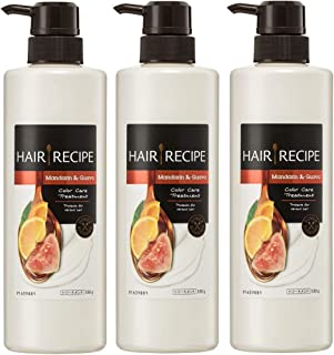3x Hair Recipe Mandarin & Guava Color Care Hair Treatment 530mL - Mandarin & Guava