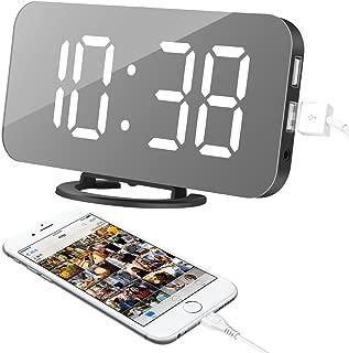 Alarm Clock, LED Digital Clock with 6.5