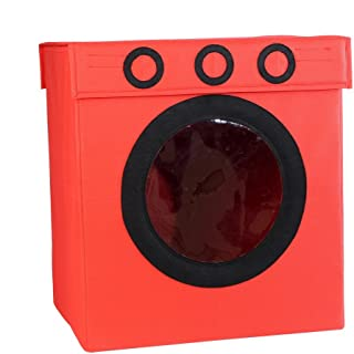 My Gift Booth Non-Woven Laundry Box, Red