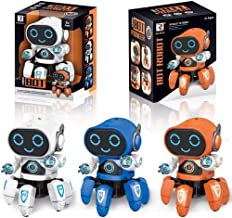 Amisha Gift Gallery® Bot Robot Octopus Shape Electric Robot Colorful Music Flashing Lights Dance Toy for Kids Boys Girls Birthday Gift Robot Toy for Kids ( Colors : Assorted )