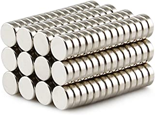 Approximate 10x5mm Round Multi-Use Magnets For Refrigerator Craft Project 30 Pieces