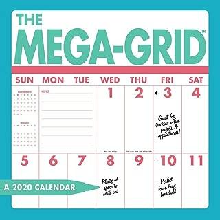 Best mega grid calendar Reviews