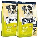 2x 10kg Happy Dog Supreme Junior Lamb & Rice (Agneau & Riz)
