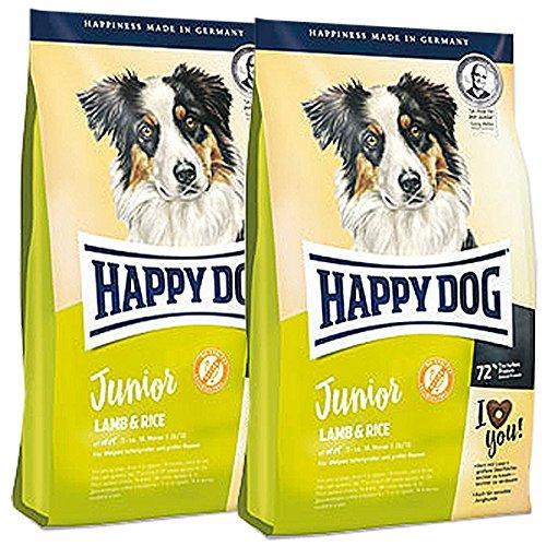 Happy Dog 2 x 10 kg Supreme Junior Lamb