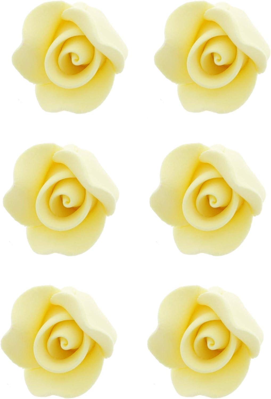 Global Sugar Art Rose Cake Flowers Yellow cheap S Unwired Very Japan Maker New