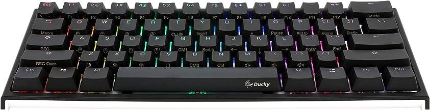 Ducky One 2 Mini Mechanical Keyboard RGB LED 60% TKL Double Shot PBT Gaming Keyboard (Cherry MX Brown)