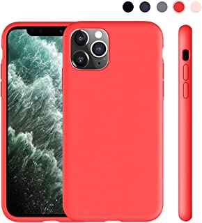 Lintelek iPhone 11 Pro Silicone Case, Soft Liquid Silicone Gel Rubber Bumper Phone Case Protective Shockproof Full-Body Case Cover for Apple 2019 New iPhone 11 Pro 5.8