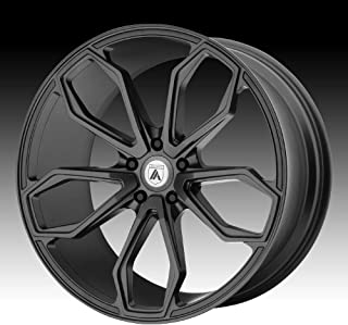 ASANTI BLACK ABL-19 ATHENA Matte Graphite Wheel with Gray and Chromium (hexavalent compounds) (22 x 10.5 inches /5 x 72 mm, 25 mm Offset)