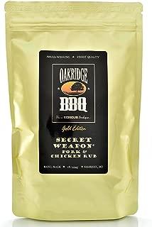 Oakridge BBQ Secret Weapon Pork & Chicken Rub - 1 Lb