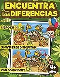 Encuentra las Diferencias: Mi Gran Libro de las Diferencias, Buscar las Diferencias, Busca y Encuentra Libros Niños, Pasatiempos para Niños, Juegos ... con 6 a 10 Diferencias, para Niña y Niño.