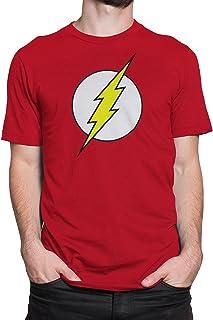 Men's The Flash Distressed Logo T-Shirt