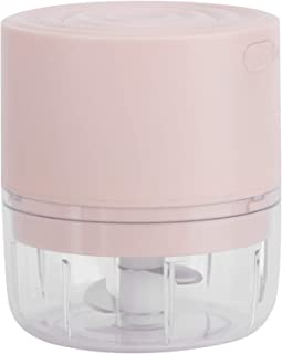 Fourket Mini Wireless Electric, Food Processor Onion Vegetable Garlic USB Chargingbay, for Dicing, Mincing, And Puree ( Pi...