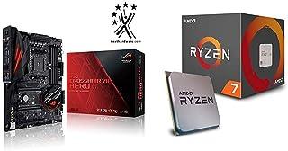 Pack Placa Base ASUS y Procesador AMD:ROG Crosshair VII Hero (WI-FI) y AMD Ryzen 7 2700