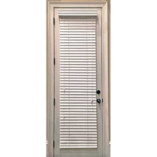 can you attach blinds to metal doors