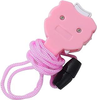 FSXZM Accueil Mignon Rose Sourire Conception en Plastique Mini Point À Tricoter Compteur Artisanat Crochet À Tricoter Rang...