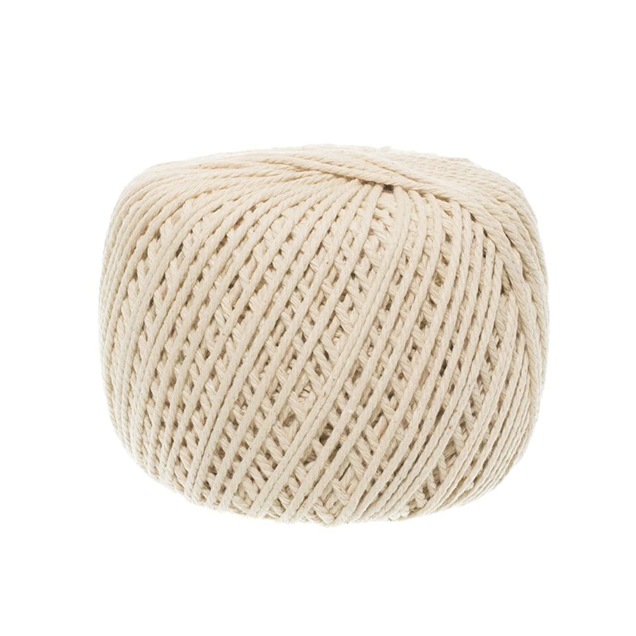 Macramé Cord 2 mm x 200 meters (about 218 yards) Handmade Decorations Natural Virgin Cotton Plant Hanger Macramé Wall Hangings Crocheting Bohemia Dream Catcher DIY Craft Knitting – Soft String Natural