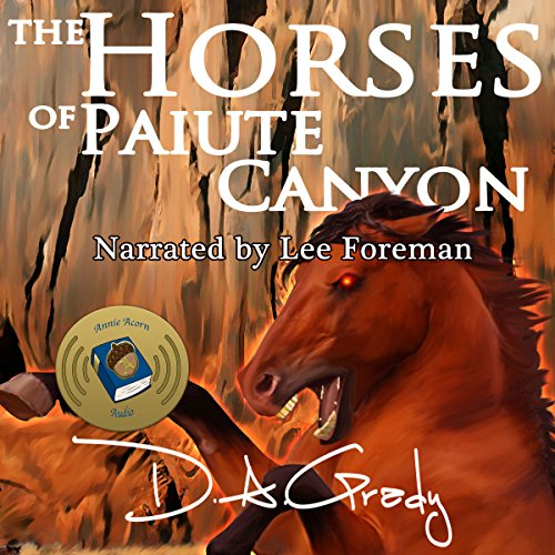 The Horses of Paiute Canyon audiobook cover art