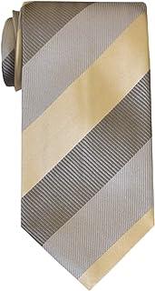 Remo Sartori - Cravatta in Pura Seta Regimental a Righe Larghe, Made in Italy, Uomo
