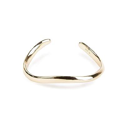 Rebecca Minkoff Wavy Cuff Bracelet (Gold) Bracelet
