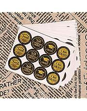 180 قطعة من ملصقات التخرج مكتوب عليها Congrats Grad لتزيين حفلات التخرج من توبفاني