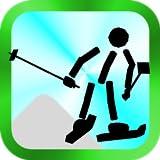 スキージャンプ棒人間 無料のスキージャンプゲーム