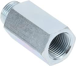 KKmoon Stainless Steel Oxygen Sensor O2 Lambda Sensor Extender Spacer for Decat & Hydrogen M18